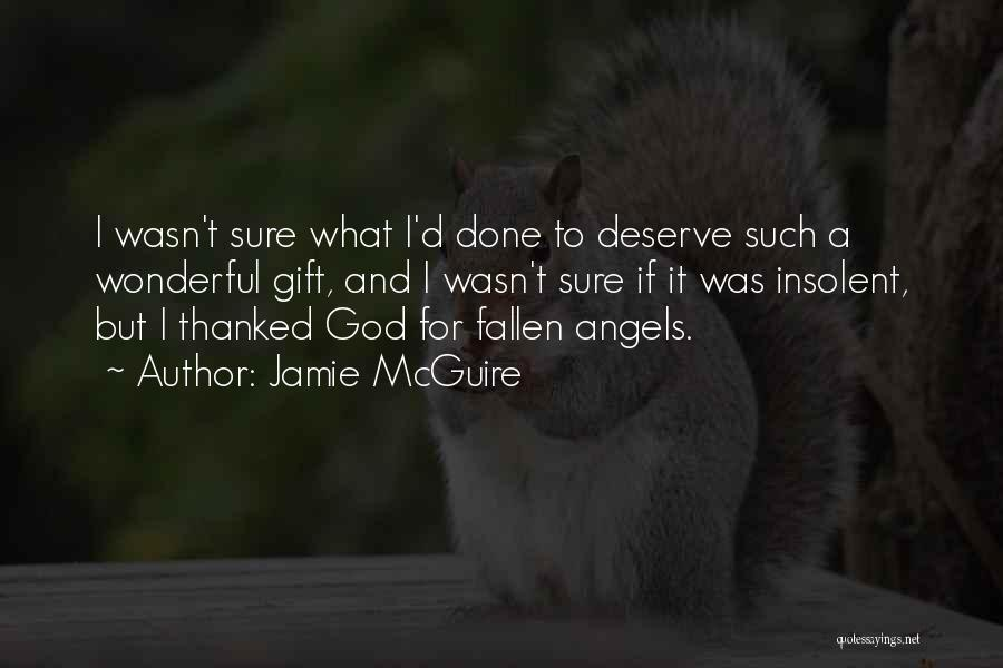 But God Quotes By Jamie McGuire