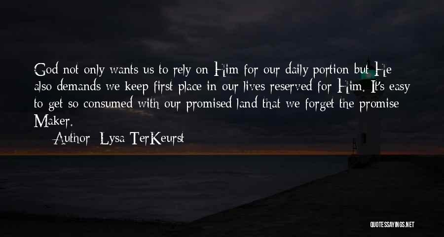 But God Quotes By Lysa TerKeurst