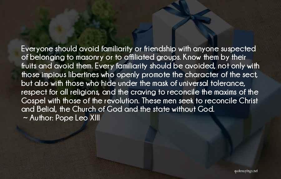 But God Quotes By Pope Leo XIII