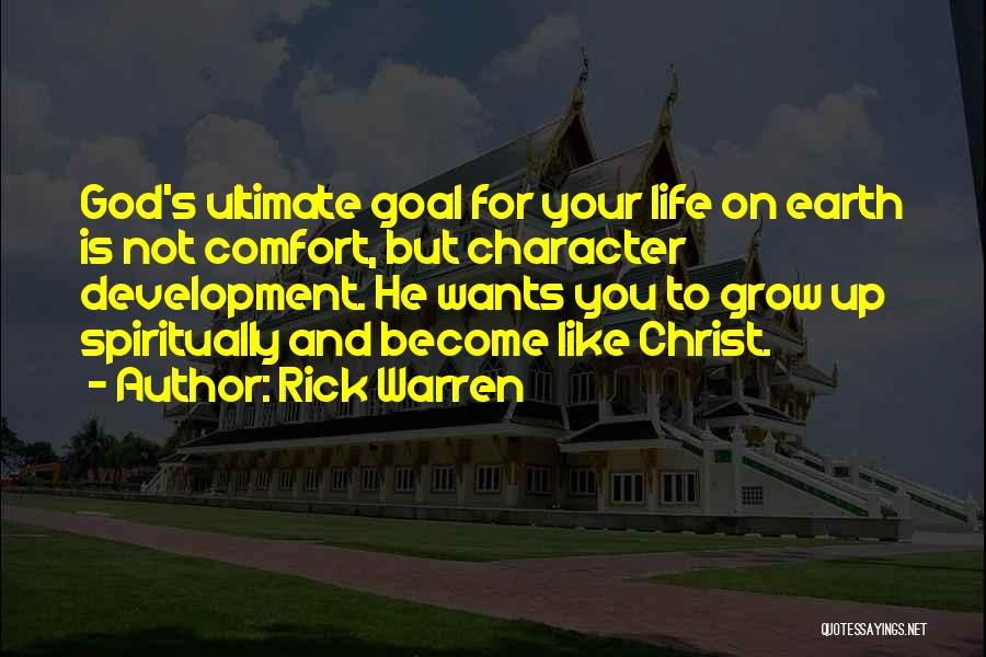 But God Quotes By Rick Warren