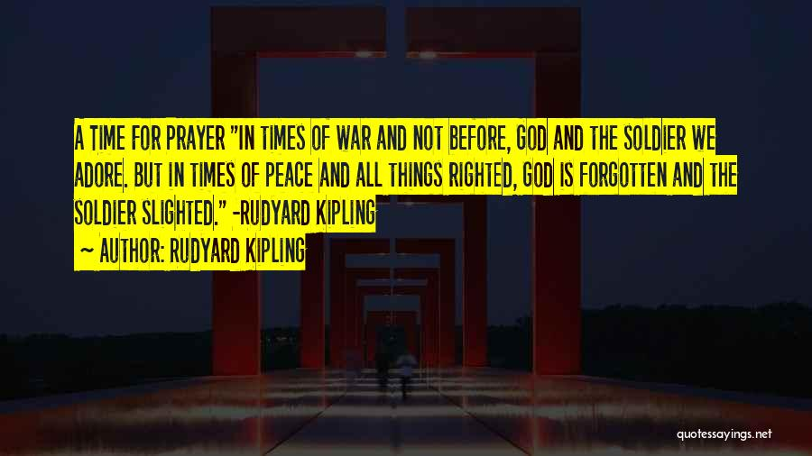 But God Quotes By Rudyard Kipling