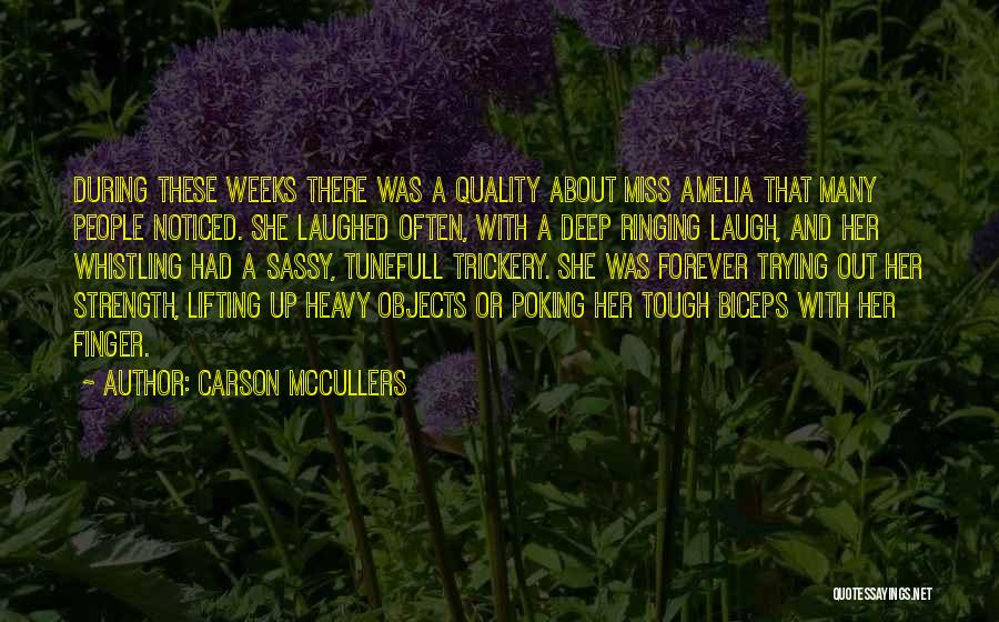 Butch O'neal Quotes By Carson McCullers