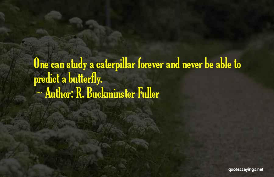 Butterfly And Caterpillar Quotes By R. Buckminster Fuller