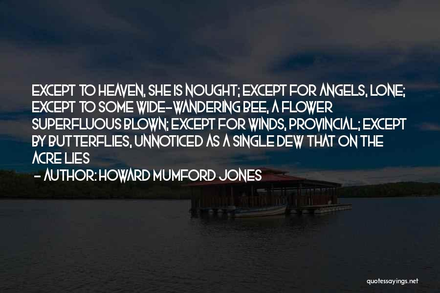 Butterfly Heaven Quotes By Howard Mumford Jones