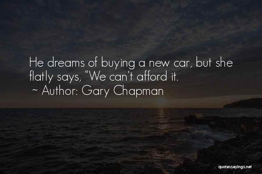 Buying A New Car Quotes By Gary Chapman