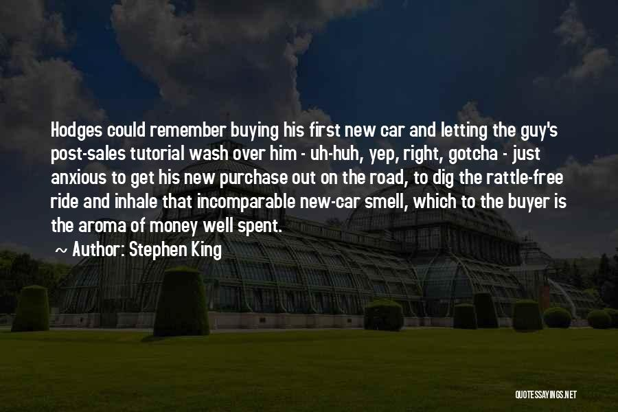 Buying A New Car Quotes By Stephen King