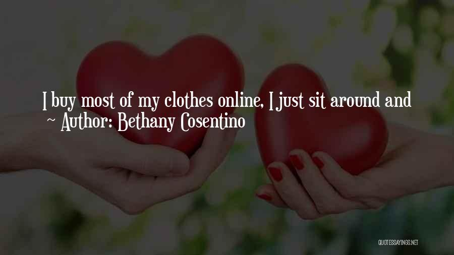 Buying Stuff Quotes By Bethany Cosentino