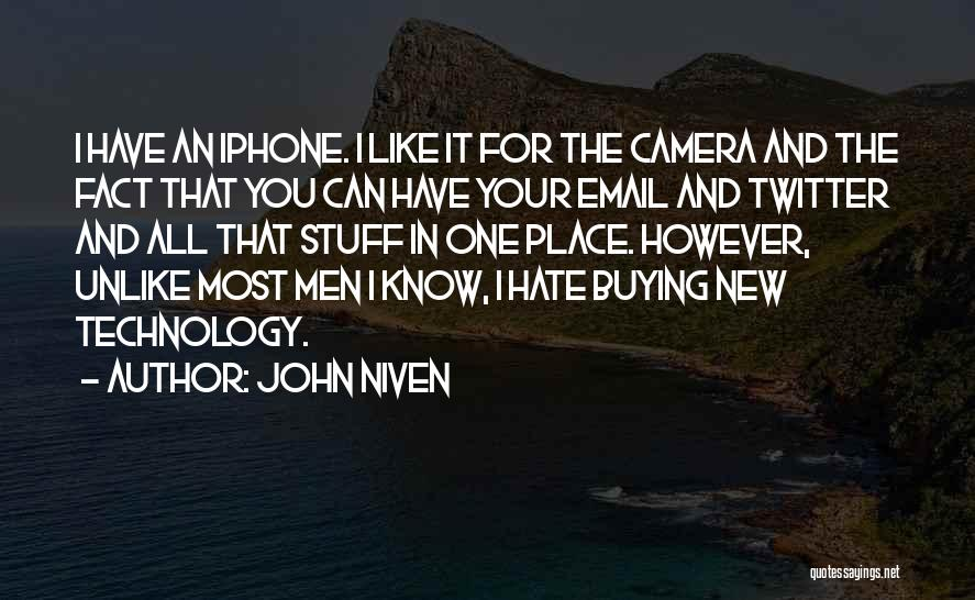 Buying Stuff Quotes By John Niven