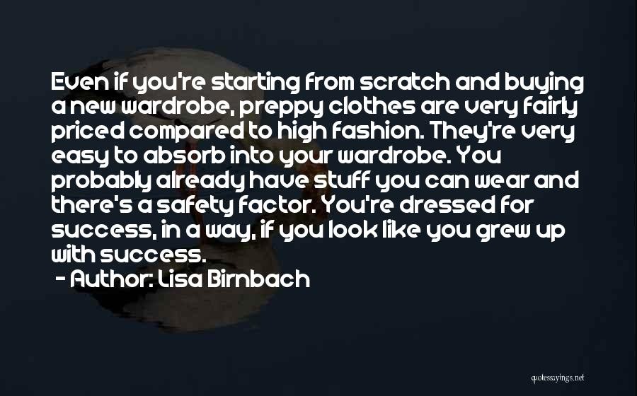 Buying Stuff Quotes By Lisa Birnbach