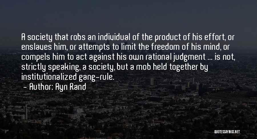 By Product Quotes By Ayn Rand