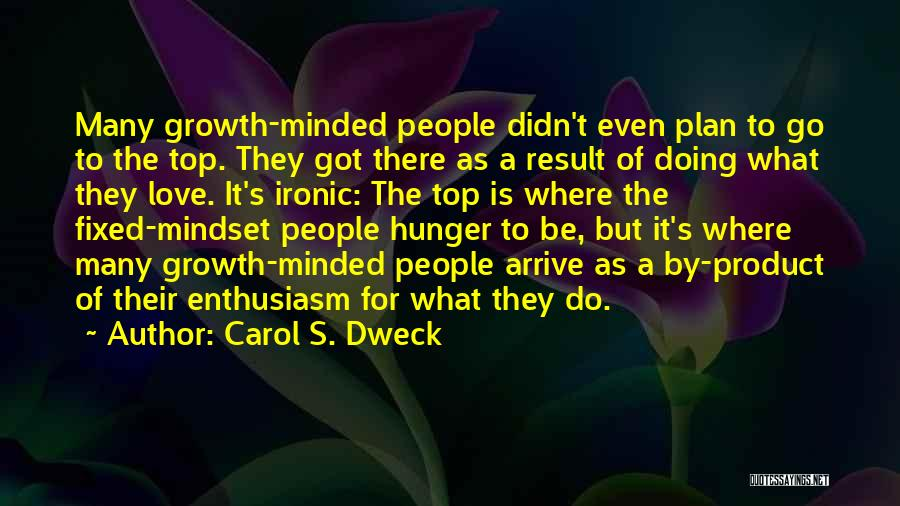 By Product Quotes By Carol S. Dweck