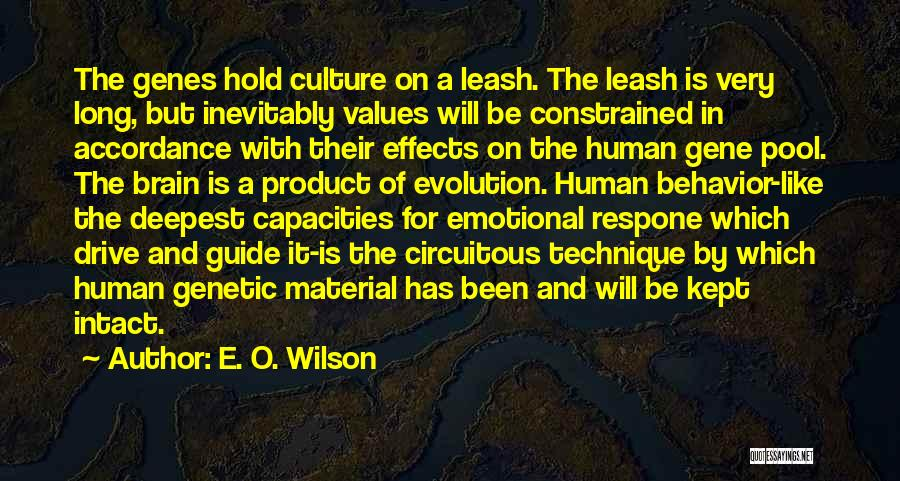 By Product Quotes By E. O. Wilson