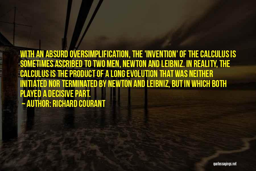 By Product Quotes By Richard Courant