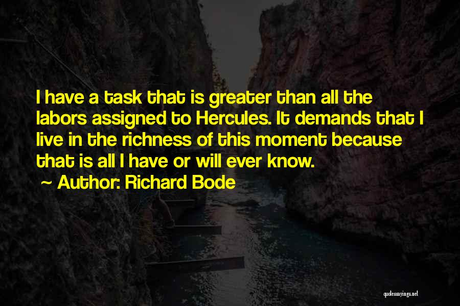 C-130 Hercules Quotes By Richard Bode