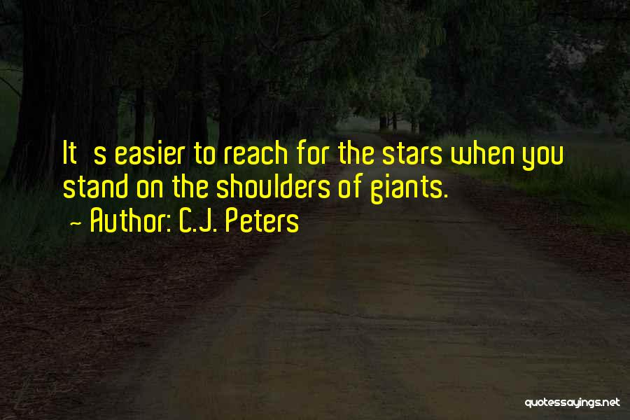 C.J. Peters Quotes 1893887