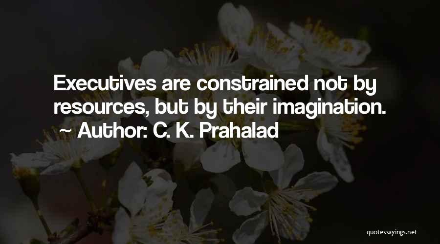 C. K. Prahalad Quotes 373841