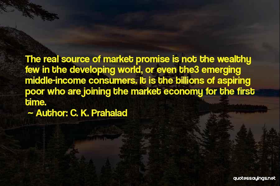 C. K. Prahalad Quotes 714032