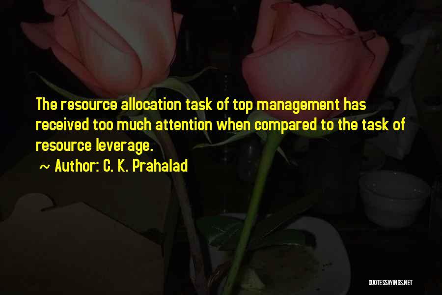 C. K. Prahalad Quotes 732412