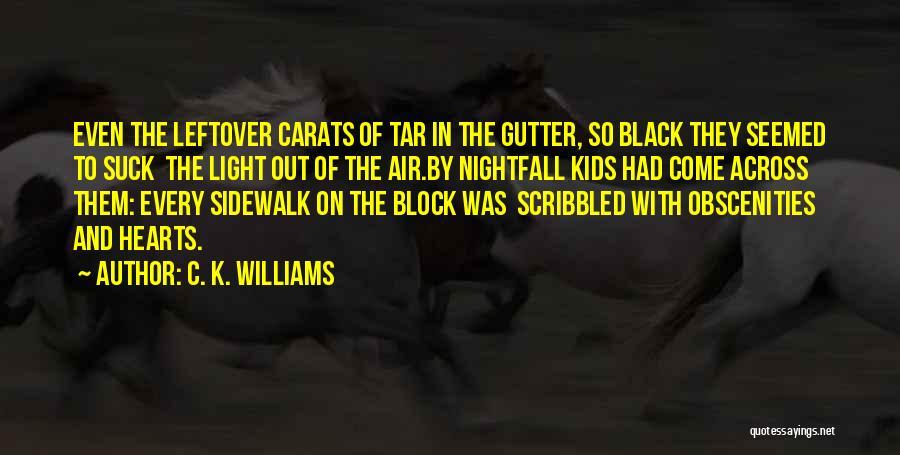 C.k. Quotes By C. K. Williams