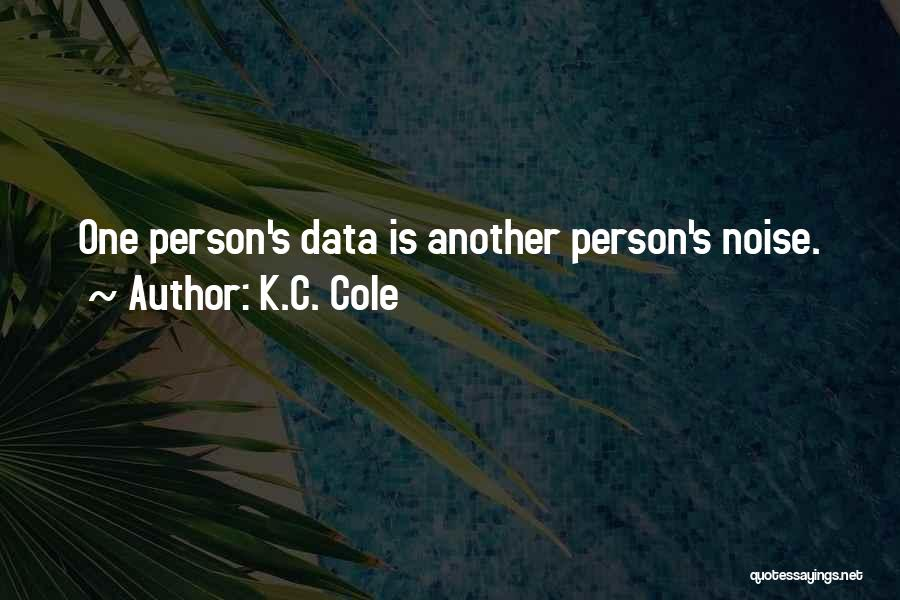 C.k. Quotes By K.C. Cole