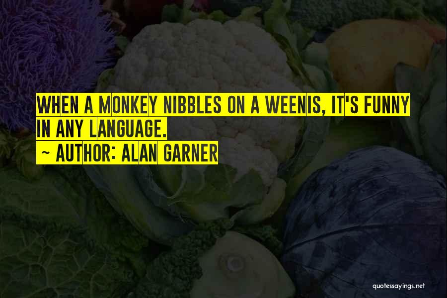 C Language Funny Quotes By Alan Garner