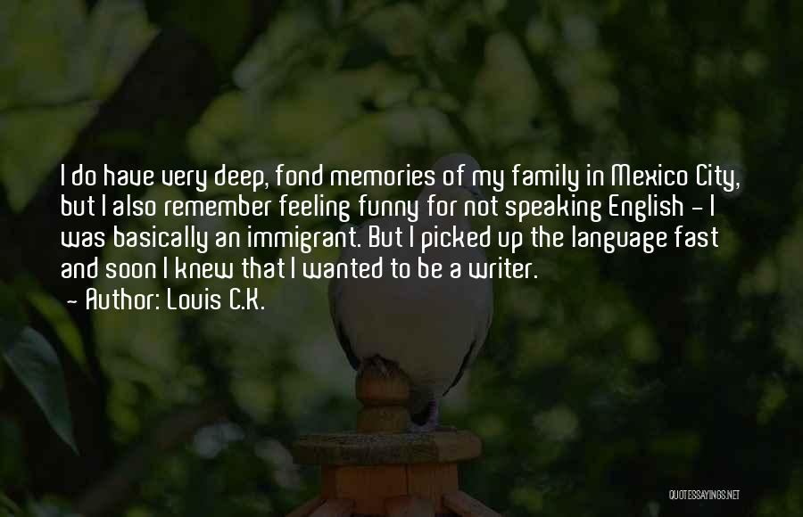 C Language Funny Quotes By Louis C.K.