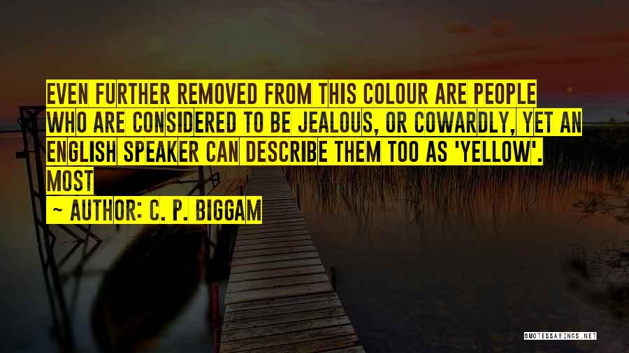 C. P. Biggam Quotes 1634214