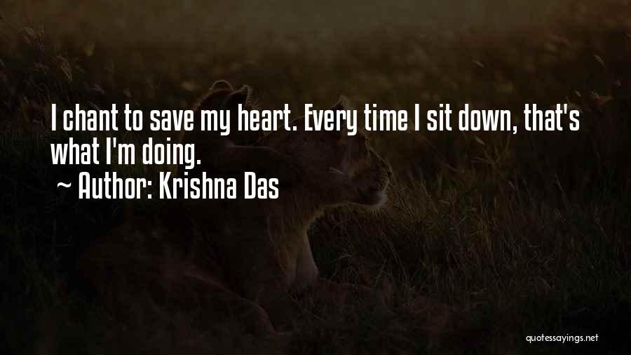 C R Das Quotes By Krishna Das
