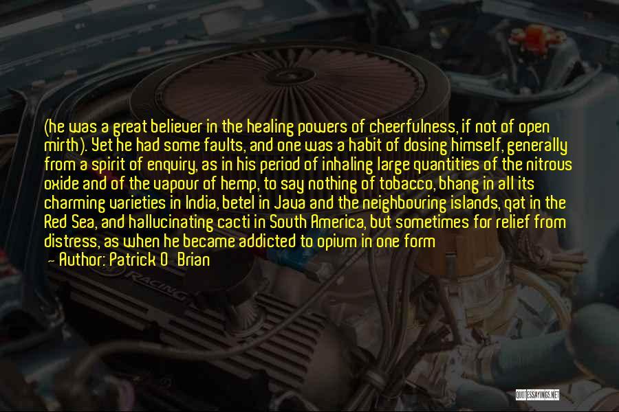 Cacti Quotes By Patrick O'Brian