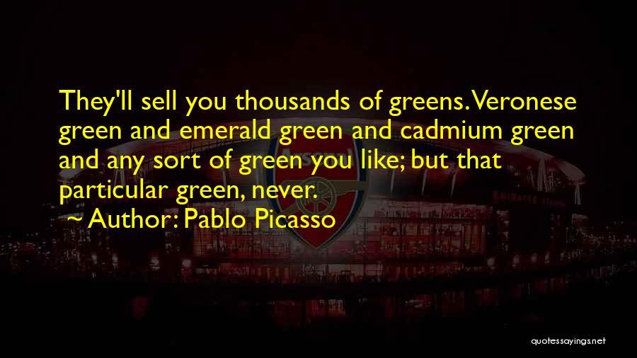 Cadmium Quotes By Pablo Picasso