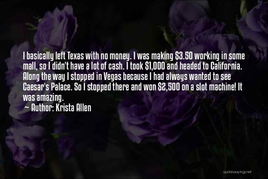 Caesar Quotes By Krista Allen