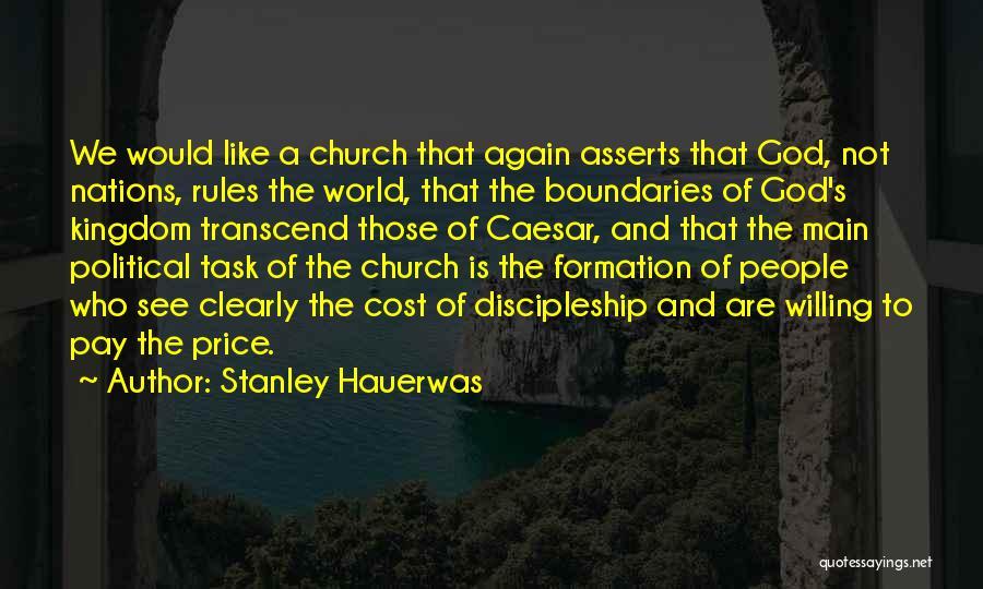 Caesar Quotes By Stanley Hauerwas