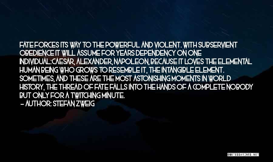 Caesar Quotes By Stefan Zweig