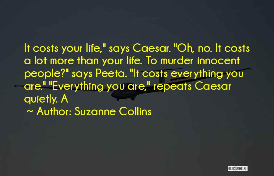 Caesar Quotes By Suzanne Collins