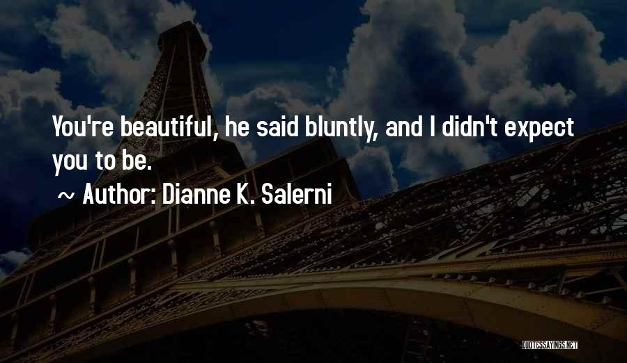 Caged Love Quotes By Dianne K. Salerni