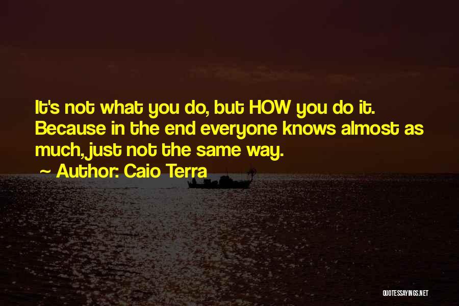 Caio Terra Quotes 1097798