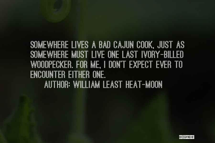 Cajuns Quotes By William Least Heat-Moon