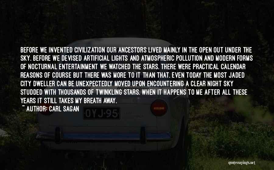 Calendar Quotes By Carl Sagan
