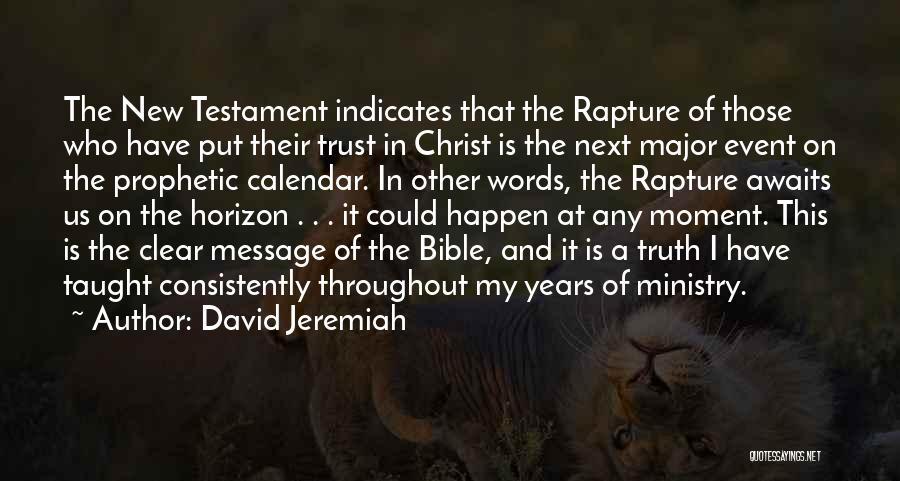 Calendar Quotes By David Jeremiah