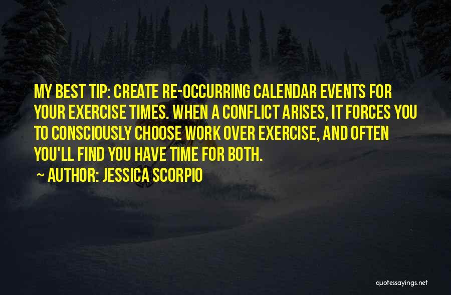 Calendar Quotes By Jessica Scorpio