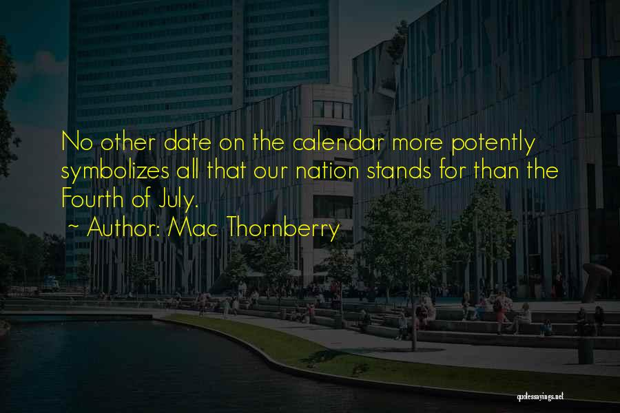 Calendar Quotes By Mac Thornberry