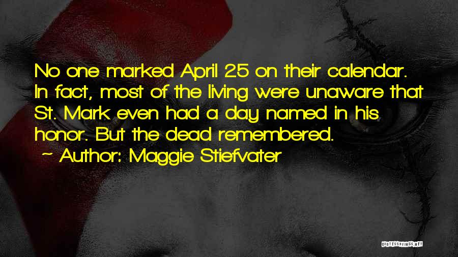 Calendar Quotes By Maggie Stiefvater