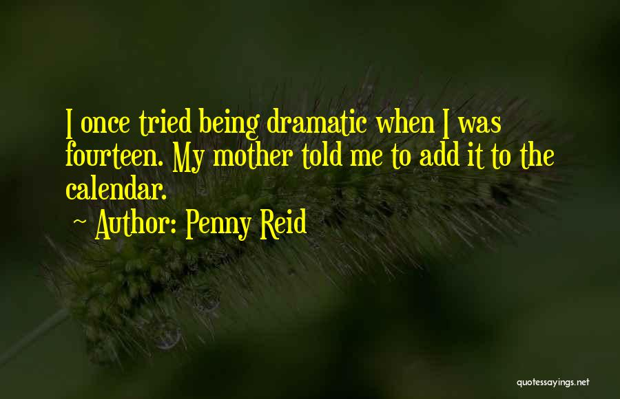 Calendar Quotes By Penny Reid