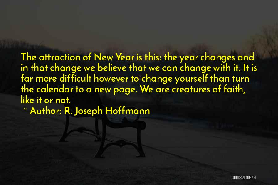 Calendar Quotes By R. Joseph Hoffmann