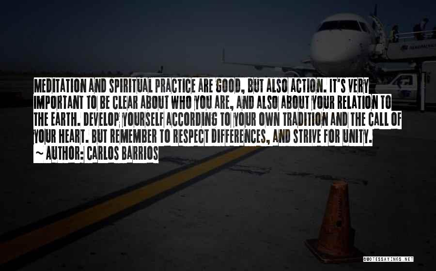 Call For Action Quotes By Carlos Barrios