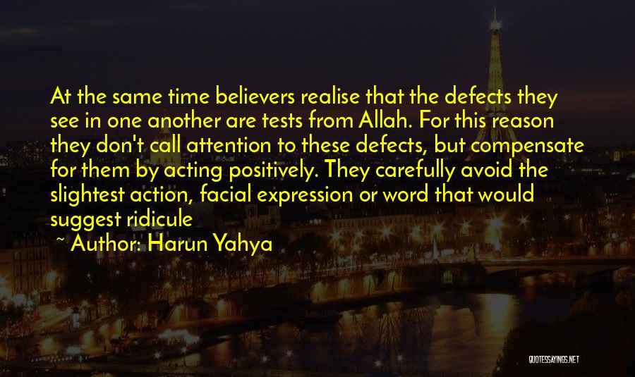 Call For Action Quotes By Harun Yahya