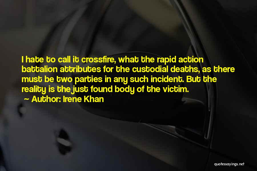 Call For Action Quotes By Irene Khan