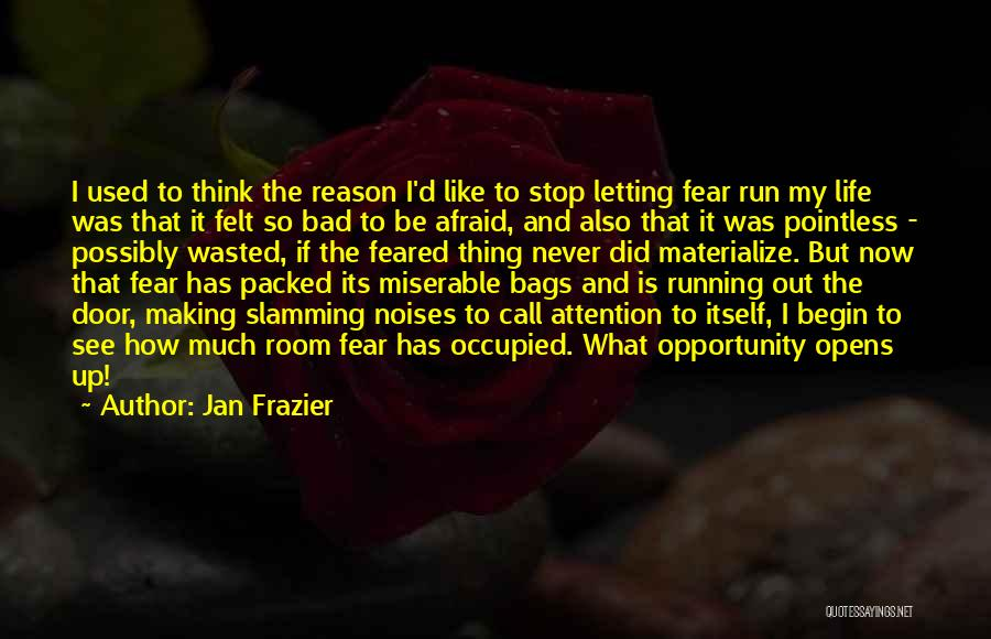 Call It How I See It Quotes By Jan Frazier