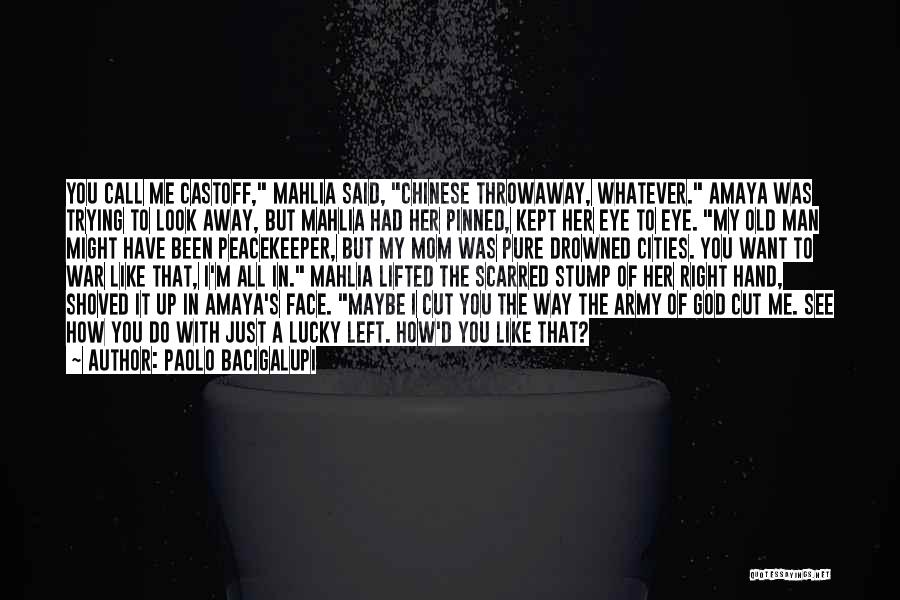 Call It How I See It Quotes By Paolo Bacigalupi
