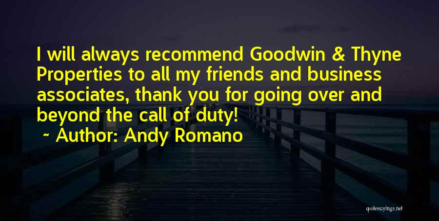 Call Of Duty Quotes By Andy Romano